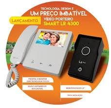 Vídeo Porteiro Lcd Colorido De 4.3 Lider Smart Lr4300