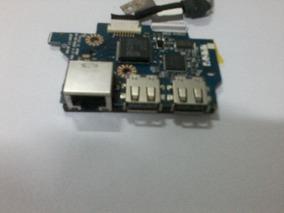 Placa Conector Usb + Cabo Flat P/ Notebook Acer Aspire 5534