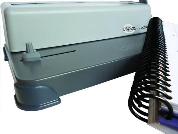 Espiraladora Anilladora Rafer A4 Profundidad Regulable