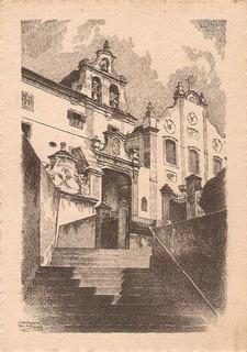 Cartão Postal Convento De Santo Antônio Rio Antigo Anos 60.
