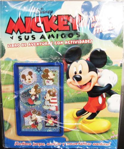 Disney Libro Mickey Mouse Con Stickers 3d (nuevo Y Original)