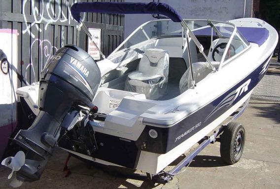 Trakker 520 Open Full Con Yamaha 40hp 4 T Efi Full - Renosto
