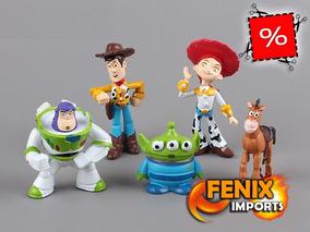 Bonecos Toy Story 5 Bonecos Disney Toy Woody Buzz Lightyear!