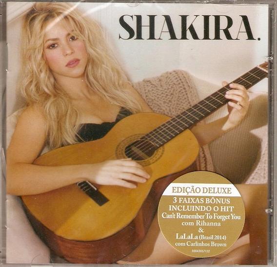 Cd Shakira - Edição Deluxe - Novo***