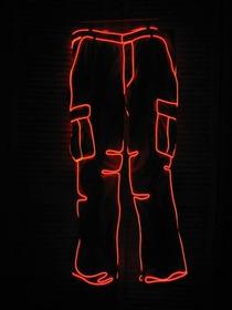 Fio De Luz Neon Led Hutz Vermelho 3 Metros C/ Controle