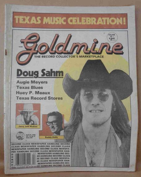 Goldmine April 1988 Doug Sahm Texas Music