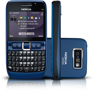 Nokia E63 3g Wifi Gps Bluetooth Só Funciona Tim - Novo