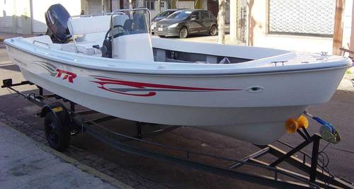 Trakker 520 Pescador Con Yamaha 40hp Arr Eléctrico - Renosto