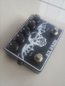 Novo Pedal A7x Drive Com Foot De Boost Customizado