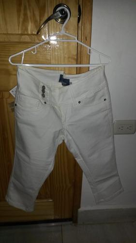 Pantalon Push Up Bershka Mujer Talla 38 28 Tipo Capri Mercado Libre