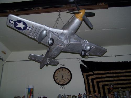 Avion Mustang Escala De La 2ww