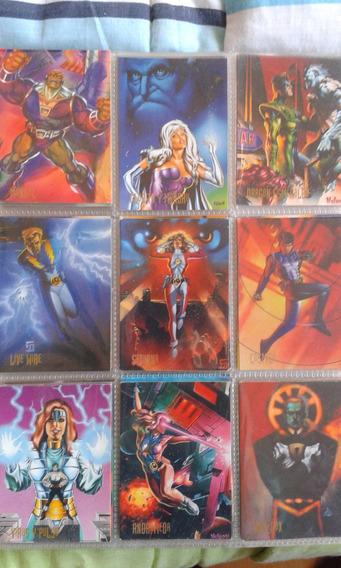 Tarjetas Dc Comics. Pepsi Cards Set 2. Batman / Superman.
