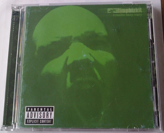 Limp Bizkit Results May Vary Cd Y Dvd 1a Ed 2003 Bvf
