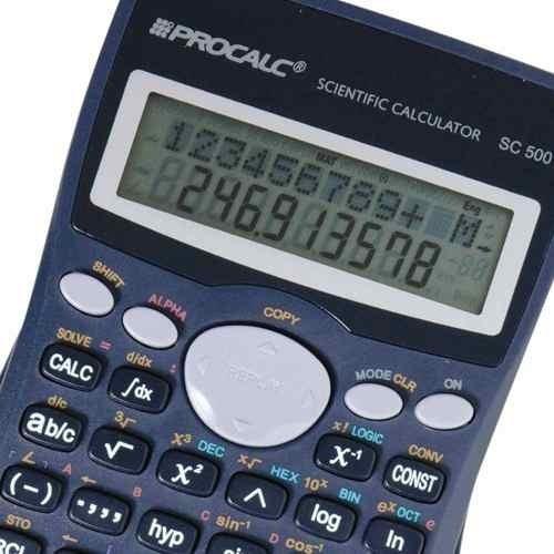 Calculadora Científica Procalc Sc500 Escritório Total