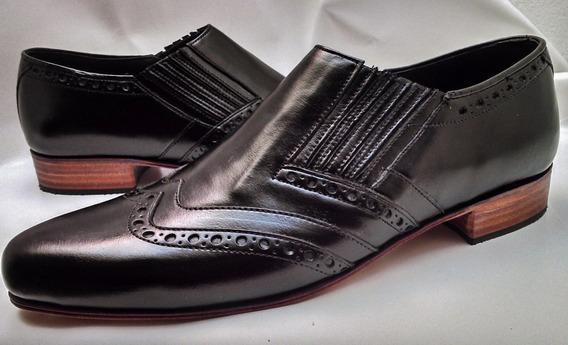 Fabricantes Zapatos Exclusivos! Cuero100% Suela,sin Cordones