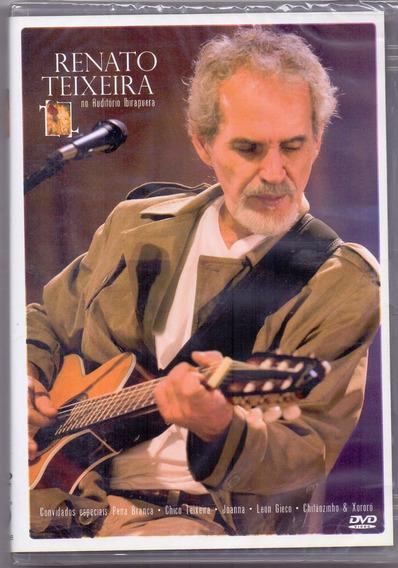 Dvd Renato Teixeira - No Auditório Ibirapuera - Novo***