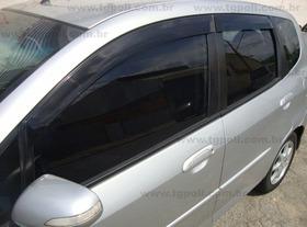 Calha De Chuva Honda Fit 4 Portas Tgpoli 28.002