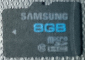 Cartão De Memoria Micro Sd Sdhc 8 Gb Classe 10 + Adap. Usb