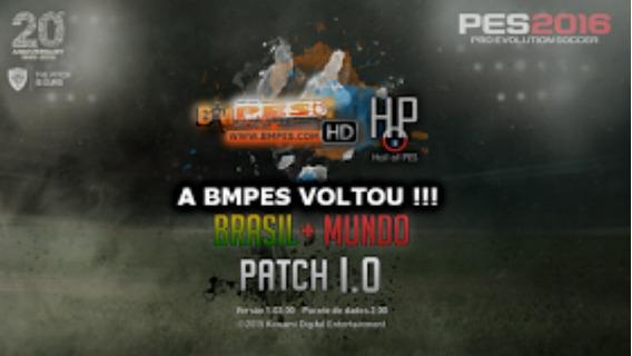 Patch Bmpes 2016 Brasileirão Atualizado 1.0 E 1.02 Completo