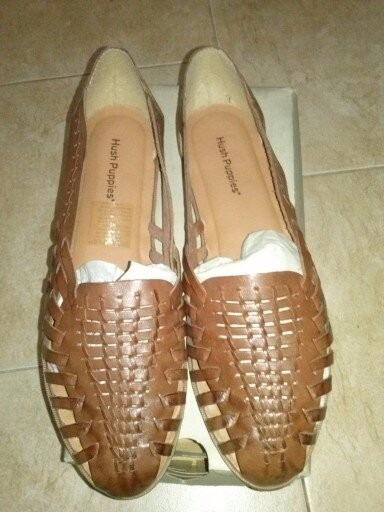 Zapato De Mujer Chatitas Balerinas Hush Puppies Nuevas