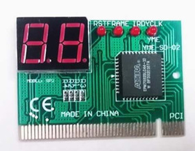 Placa Debug Card Diagnósticos Pc Analyzer Para Defeitos Pc