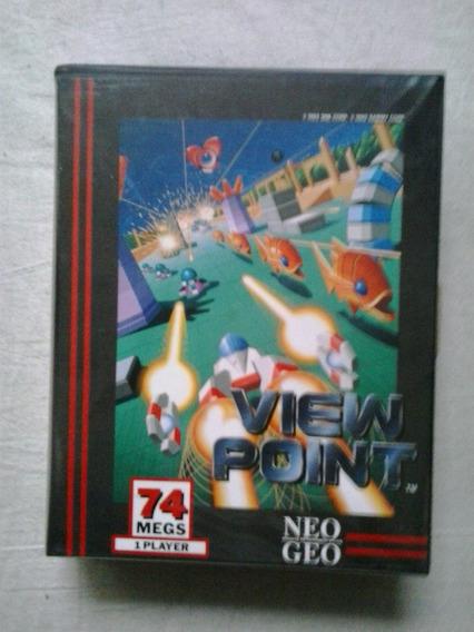 Jogo Neo Geo View Point Cartucho Jogo Neo Geo Snk Neo Geo