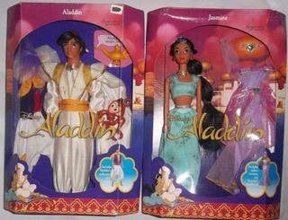 Princesa Jazmin Yasmin Y Aladdin Edition 1992 Estrela Narey