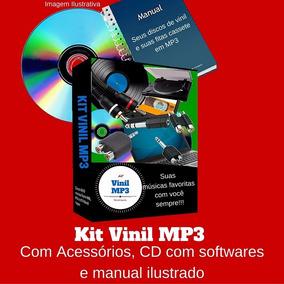 Conversão Discos De Vinil Lp K7 Em Mp3 Direto No Computador