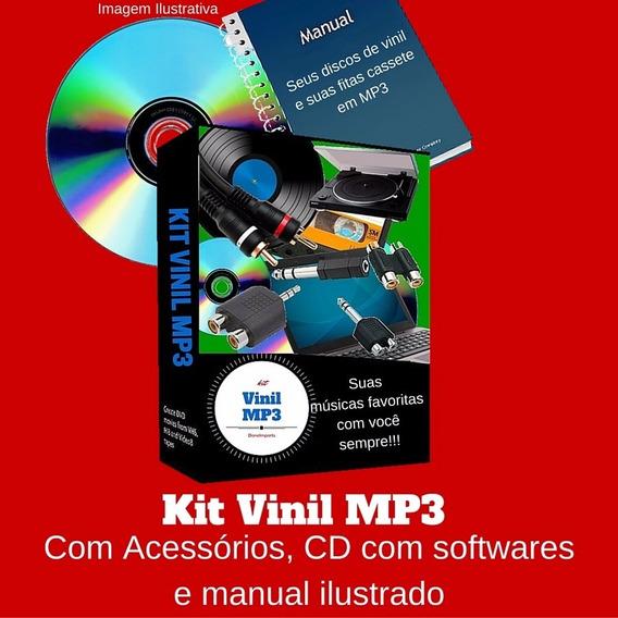Digitalizador Discos Vinil K7 Em Mp3 Direto No Computador