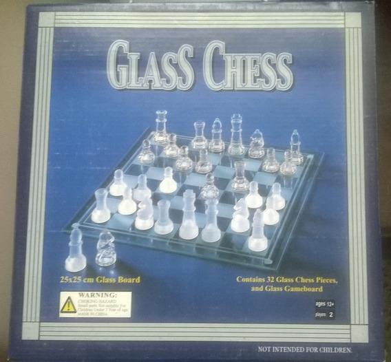 Glass Chess Ajedrez De Vidrio Juegos