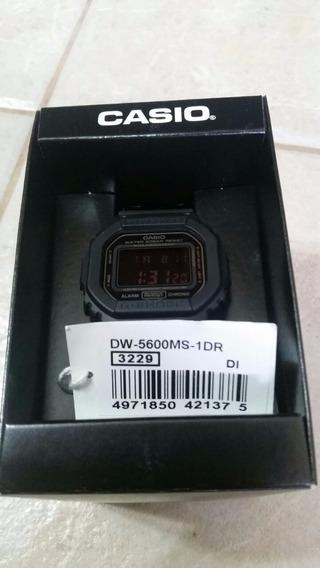 Relógio Casio G-shock Dw-5600ms-1dr