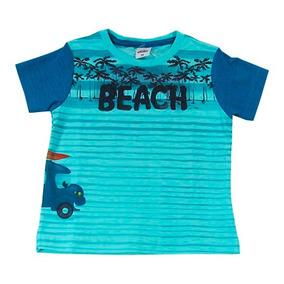 Camiseta Infantil Beach - Dila