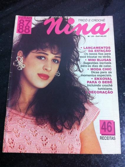 Revista Nina Claudia Raia Estrela Da Tv Globo E Cinema. Gata