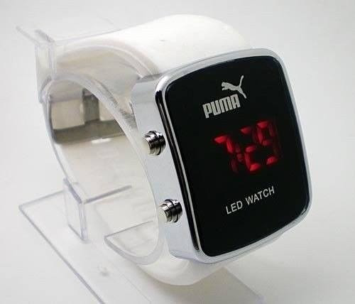 Relógio Digital Puma Led Unisex 100%qualidade Pronta Entrega