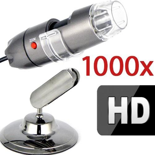 Microscópio Digital Usb 1000x Grava Em Hd - Envio Imediato