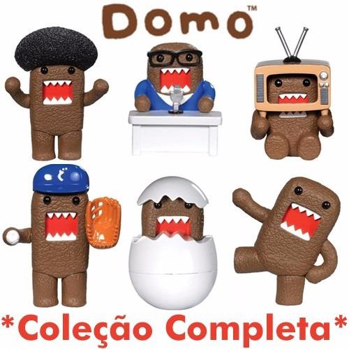 Miniatura Domo Coleção Completa Com 6 Modelos Diferentes!
