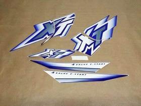 Kit De Adesivos Yamaha Xt 600 - 2000 A 01