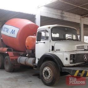 Caminhão Mb 2219 Com Betoneira Estudo Trocas Vários Outros