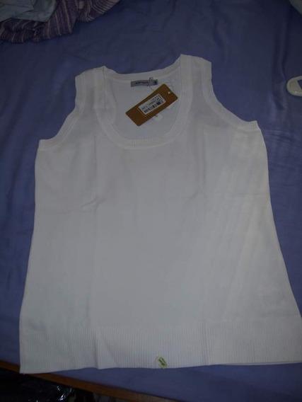 Remera/musculosa Portsaid Talle M. Nueva. Color Blanco.