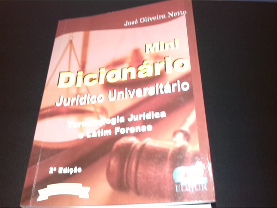 Mini Dicionário Juridico Universitário