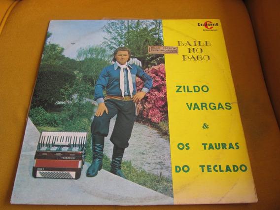 Lp Zildo Vargas Tauras Teclado California Baile Pago Pampas