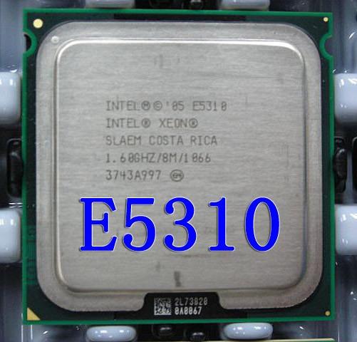 Processador Intel Xeon E5310 1.60ghz 8m Cache 1066 Sl9xr