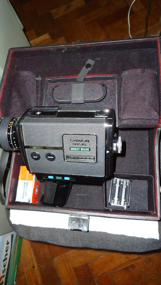 Filmadora Chinon 505 Xl Direct Sound Super 8