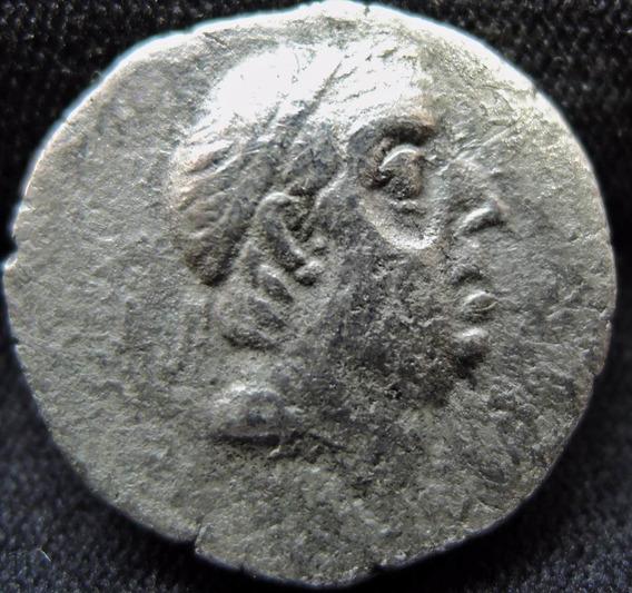 Moeda Grega Antiga Império Reis Da Cappadocia Ariobarzes I