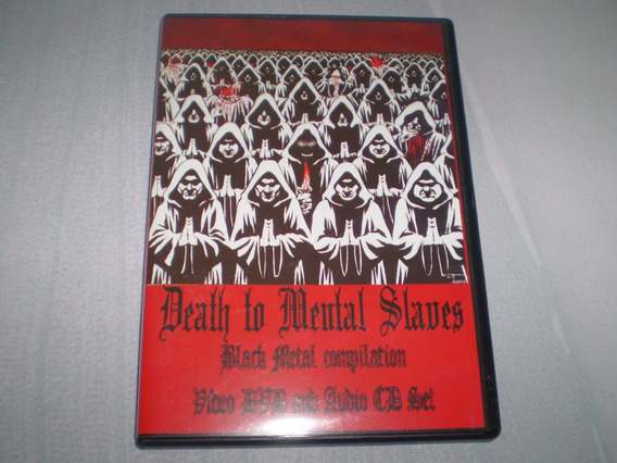 Death To Mental Slaves Black Metal Compilation Dvd