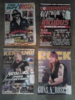 Revista Kerrang. Metallica, Iron Maiden, Gn´r Y Mas! Lvbp13