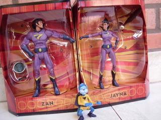 Gemelos Fantasticos Liga De La Justicia Dc Zan Jayna Gleek