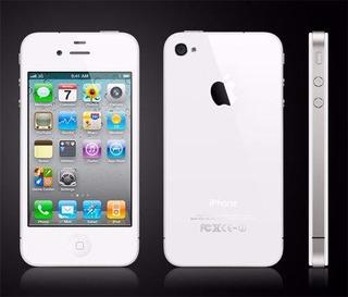 iPhone 4 8gb Branco Anatel Desbloqueado + Capa (ótimo Estado