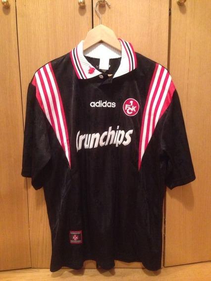 Camisa Kaiserslautern Alemanha adidas Unif 2 1998 Rara Nova