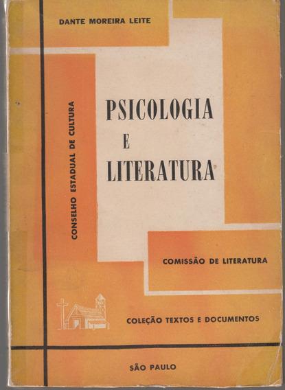 Psicologia E Literatura - Dante Moreira Leite